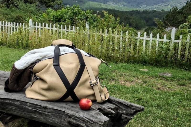 Túi Fabian du lịch trong một chuyến đi